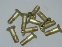 10 x M4 Screws CSK Cadmium Plated Steel 12.5mm Long Offset Cross Headed [P17]